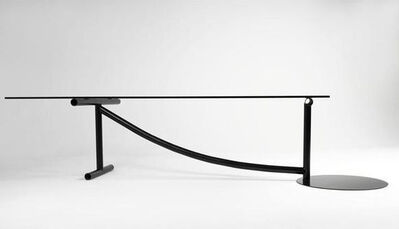 "Martin Szekely, '""Crousel"" table', 1985"