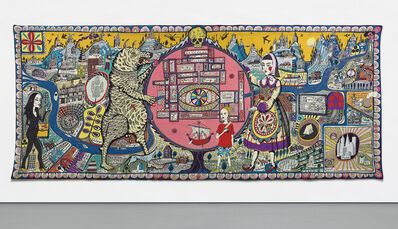 Grayson Perry, 'Map of Truth and Beliefs', 2011