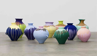 Ai Weiwei, 'Colored Vases', 2007