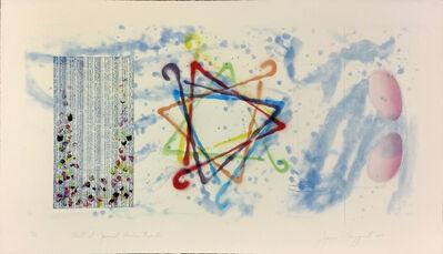 James Rosenquist, 'WALL STREET JOURNAL, DINNER TRIANGLES', 1977