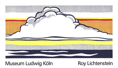 Roy Lichtenstein, 'Cloud And Sea', 1989