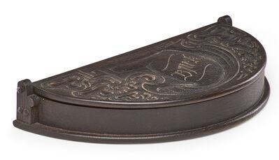 Charles Rohlfs, 'Rare demilune jewelry box', 1902