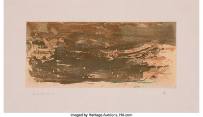 Helen Frankenthaler, 'Earth Slice', 1978