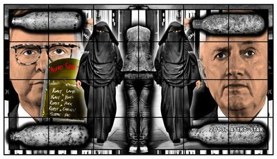 Gilbert and George, 'ASTRO STAR', 2013