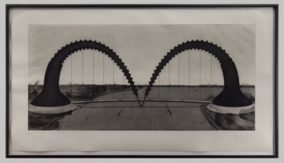 Claes Oldenburg, 'Screwarch Bridge', 1980