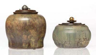 Carl Halier, 'Two Lidded Jars', circa 1935
