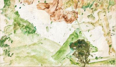 Max Weiler, 'Wie eine Landschaft', 1964