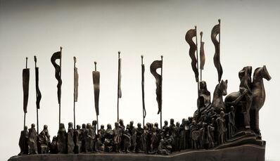 Dia Azzawi, 'Suspiro del Moro', 2011