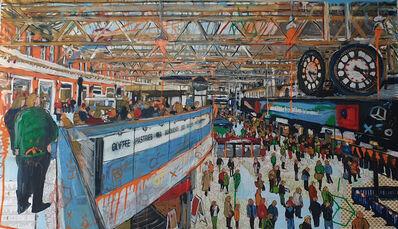 Andrea Sbra Perego, 'London, Waterloo Station', 2019