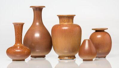 Gunnar Nylund, 'Five Vases', circa 1960