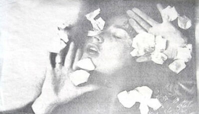 Penny Slinger, 'Coming Up Roses/Petals Fall-2', 1974