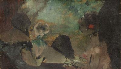 Edgar Degas, 'The Loge', ca. 1883
