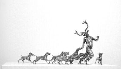 Bernardí Roig, 'Acteon devorado por sus propios perros - Dorero, Leucón, Betssol, Melamp, Ciprio, Ignobtes de Cnoso y el cruel Terrón', 2012