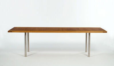 Yves Klein Table Ikb From The Edition Begun In 1963 Produced