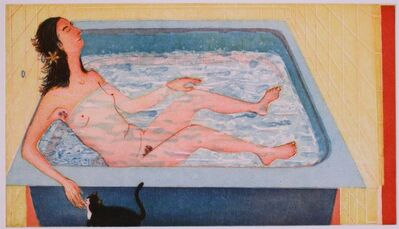 Sarah McEneaney, 'Beneficial Bath', 2002