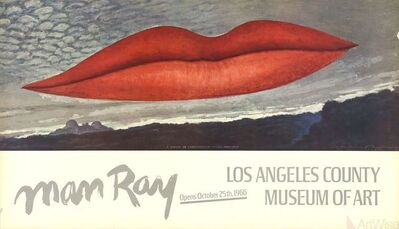 Man Ray, 'Lips', 1966