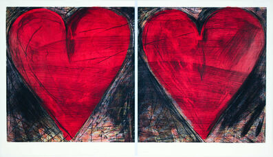 Jim Dine, 'The Pale Blue Line', 2014