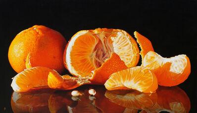 Anne-Marie Zanetti, 'Mandarin peeled', 2019