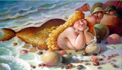 Anna Varella, 'Golden Mermaid ', 2012