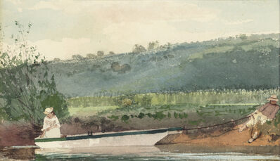 Winslow Homer, 'Towing the Boat', 1878