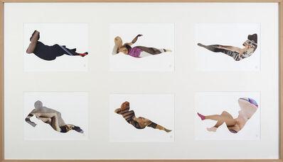 Zoulikha Bouabdellah, 'Corps étranges II - Jambes', 2013