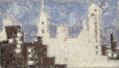 Lyonel Feininger, 'Architecture with Stars II', 1945