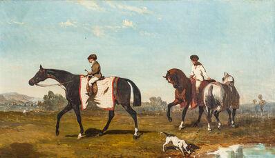 Alfred De Dreux, 'La promenade des chevaux'