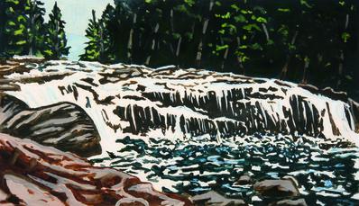 Richard Bosman, 'Buttermilk Falls', 2011