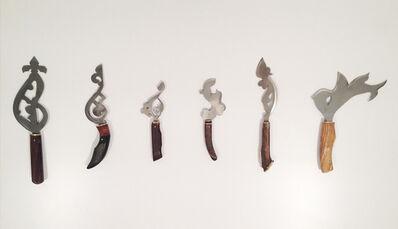 Zoulikha Bouabdellah, 'Les Couteaux', 2013