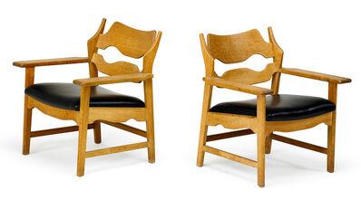 Henning Kjaernulf, 'Henning Kjaernulf Pair Of Lounge Chairs', 1960s