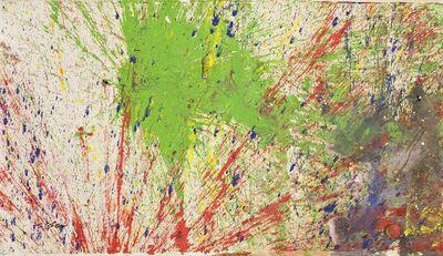 Shozo Shimamoto, 'Bottle Crash in Venice 18', 2007