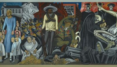 José Clemente Orozco, 'The Epic of American Civilization', 1932-1934