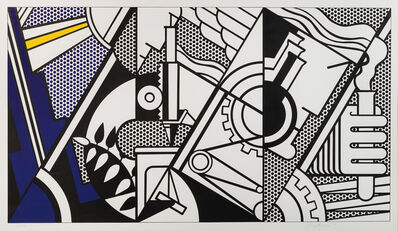 Roy Lichtenstein, 'Peace through Chemistry', 1970