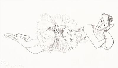 Henri Matisse, 'Danseuse allongée, Tête accoudée from Dix Danseuses', 1925-1926