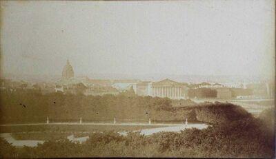 Hippolyte Bayard, 'Le jardin des Tuileries, Paris', 1849