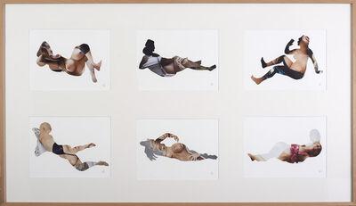 Zoulikha Bouabdellah, 'Corps étranges I - Seines', 2013