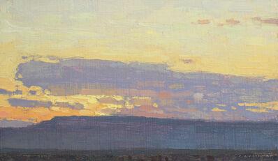 David Grossmann, 'Mesa and Clouds at Sunrise', 2020