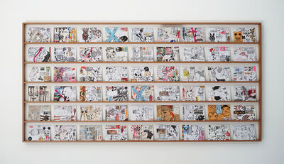 Eddie Hara, 'Postcard From The Alps Series #3', 2008-2014