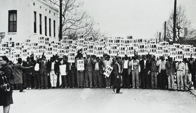 Ernest Withers, 'I Am a Man: Sanitation Workers Strike, Memphis, TN', 1968
