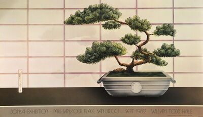 William Todd Haile, 'Bonsai Exhibition, Miki-San/Our Place, San Diego, September 1982', 1982