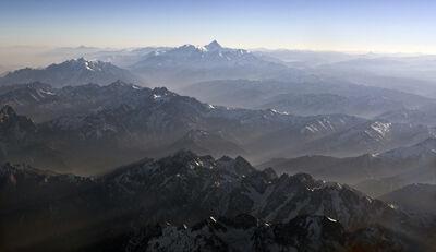 Lu Hao, 'Mountain - The light of God'