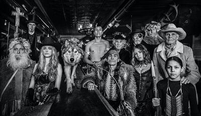 David Yarrow, 'The Last Chance Saloon', 2019
