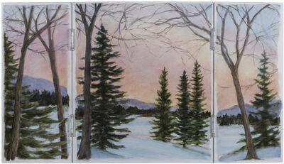Marguerite Robichaux, 'South Branch Triptych'