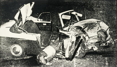 Andy Warhol, 'Car Crash ', 1978