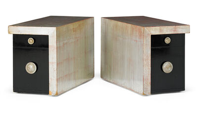 James Mont, 'Pair of side tables, USA', 1960s