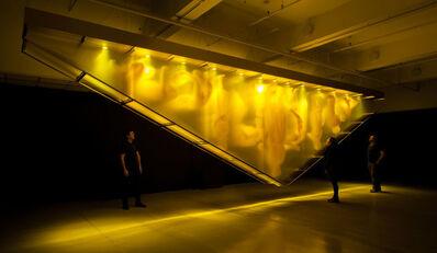 David Spriggs, 'Stratachrome Gold', 2017