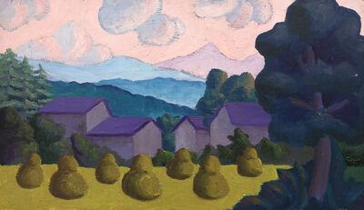 Salvo, 'Tramonto', 1982