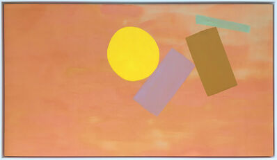 William Perehudoff, 'Orange Arcturus', 1972