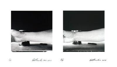 Ed Ruscha, 'Self-Portrait of My Forearm 1960 and Self-Portrait of My Forearm', 2014