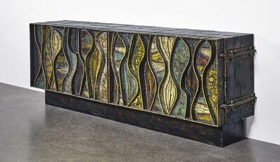 "Paul Evans, '""Wavy Front"" Cabinet', 1965"